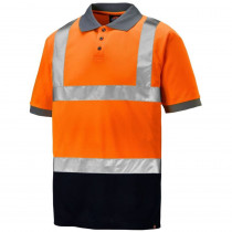 Polo de travail haute visibilité bicolore Dickies Hi-Vis