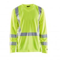 T-shirt manches longues haute visibilité Blaklader anti-uv et odeur...
