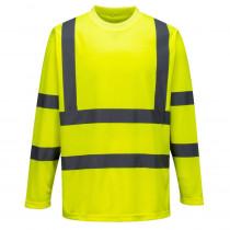 Tee-shirt haute visibilité Portwest manches longues