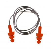 Bouchon anti-bruit Portwest TPE Réutilisable avec cordelette (50 pa...