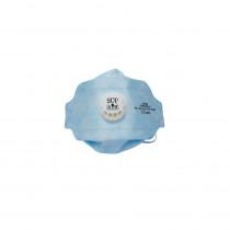 Masque respiratoire pliable 3D à usage unique avec soupape Sup Air ...