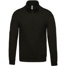 Sweat-shirt col zippé Kariban