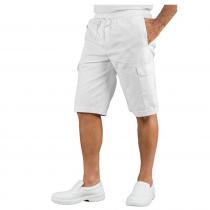 Short de travail taille élastiquée Isacco poches cargo