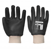Gants de manutention PVC Portwest POIGNET TRICOT