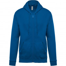 Sweat-shirt zippé capuche Kariban