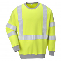Sweat-shirt de travail Haute visibilité antistatique Portwest Modaf...