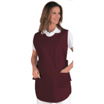 Chasuble service femme Isacco Poncho Bordeaux