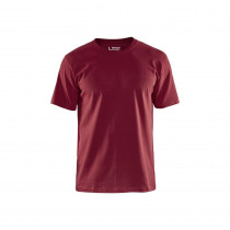 T-shirt Col rond Homme Blaklader bordeaux