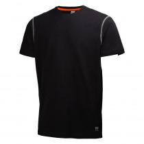 T-shirt OXFORD Helly Hansen-NOIR-L