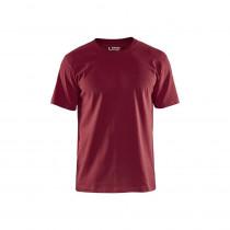 T-shirt Col rond Homme Blaklader bordeaux
