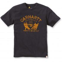 T-shirt de travail Carhartt manches courtes 100% coton