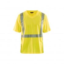 T-shirt haute visibilité Blaklader Jaune face