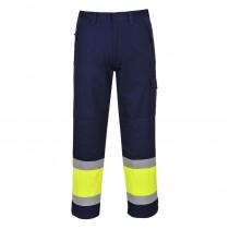 Pantalon de travail Haute visibilité multirisques Portwest modaflame