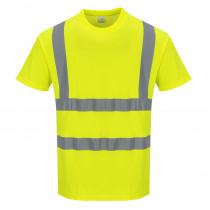 Tee shirt Haute visibilité Portwest MC Coton Comfort