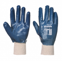 Gants coton Portwest double induction nitrile A300