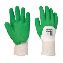 Gants de manutention Portwest LATEX CRÊPÉ DOS AÉRÉ