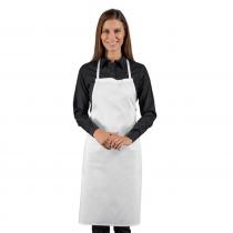 Tablier de cuisine sans poches Isacco 100% coton
