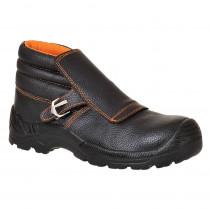 Chaussures de sécurité soudeur montantes S3 HRO Brodequin Soudeur P...