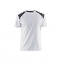 T-shirt Blaklader peintre bicolore
