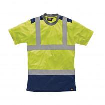 T-shirt de travail haute-visibilité Bicolore Dickies