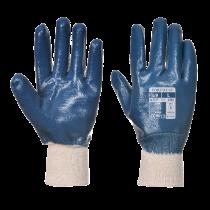 Gants coton Portwest double induction nitrile A300