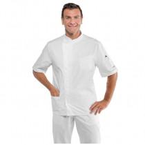 Tunique pharmacien blanche Isacco Philadelphia 100% coton