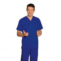 Tunique médicale unisexe Isacco Bleu Royal