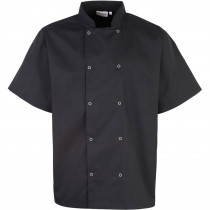 Veste de cuisine Studded manches courtes