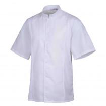Veste de cuisine mixte col éponge manches courtes Robur Siaka