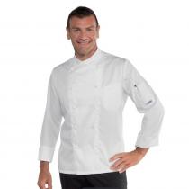 Veste de cuisine Blanche Panama Isacco