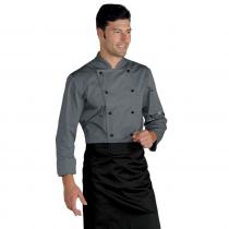 Veste de cuisine gris Classique Isacco