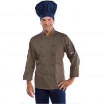 Veste de cuisine Marron Classique Isacco