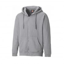 Veste sweat de travail zippée Dickies Redwood gris