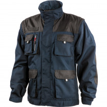 Veste 2 en 1 Albatros ALLROUND BLACK manches amovibles