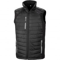 Gilet matelassé softshell Result BLACK COMPASS