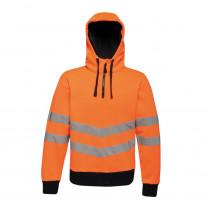 Sweat shirt à capuche haute visibilité Regatta Professional HI-VIS ...