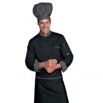 Veste de cuisine Noir Bicolore Isacco