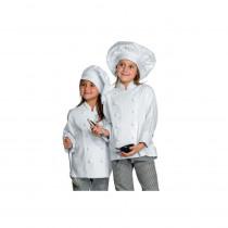 Veste Cuisine Enfant Isacco 100% coton Babychef