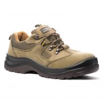 Chaussures de sécurité basses sans métal Coverguard Emerald S1P SRA coté extérieur