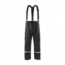 Pantalon de pluie à bretelles Blaklader bandes réfléchissantes