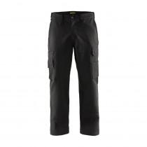 Pantalon de travail cargo Blaklader 100% coton Avant