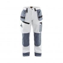 Pantalon de travail peintre X1500 Blaklader 100% coton poches flott...