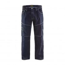 Pantalon de travail X1900 urban Blaklader cordura denim 375g/m² Marine avant