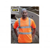 T-shirt haute  visibilité RTY approuvé EN471
