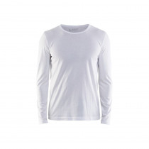 T-shirt manches longues Blaklader Blanc