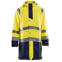 Manteau de pluie imperméable Blaklader haute visibilité