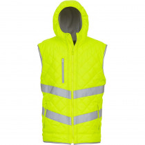 "Bodywarmer haute visibilité ""Kensington"" yoko jaune"