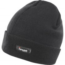 Bonnet de travail léger Thinsulate Result-Black