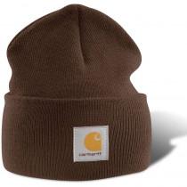 Bonnet tricoté Carhartt-Brown