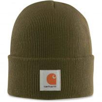 Bonnet tricoté Carhartt-Dark Green